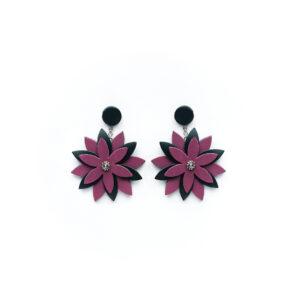 Серьги Flower II